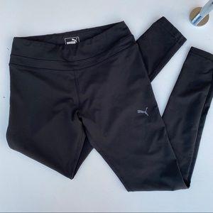 Puma black workout leggings size small